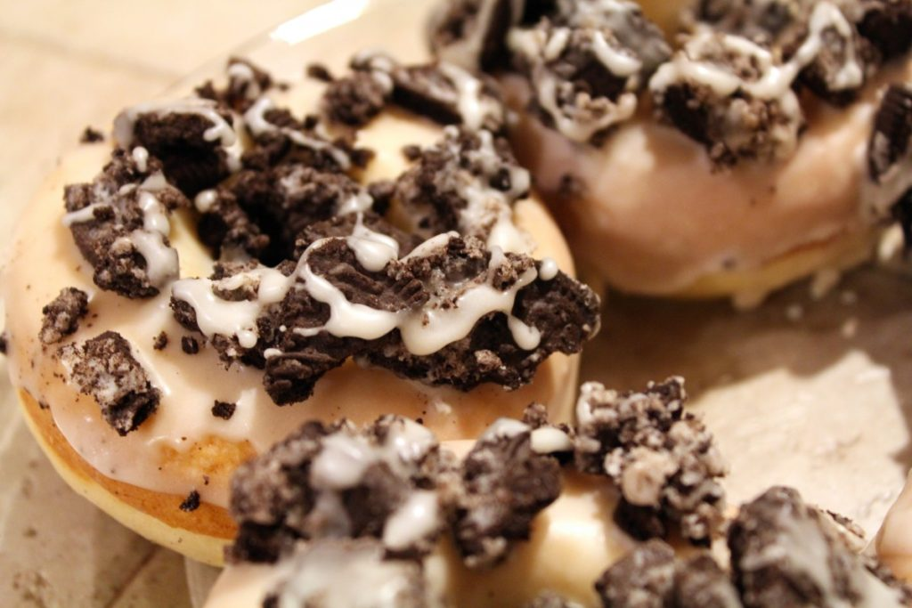 Cookies and Cream Donuts