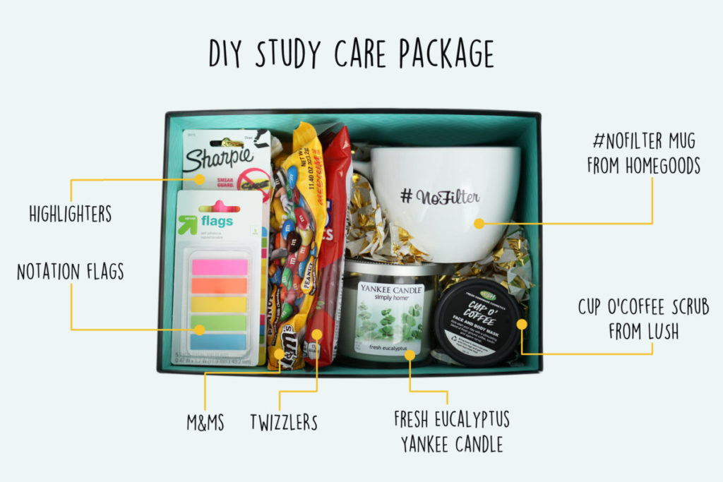 Diy Study Care Package To Jumpstart My Sister S Bar Exam